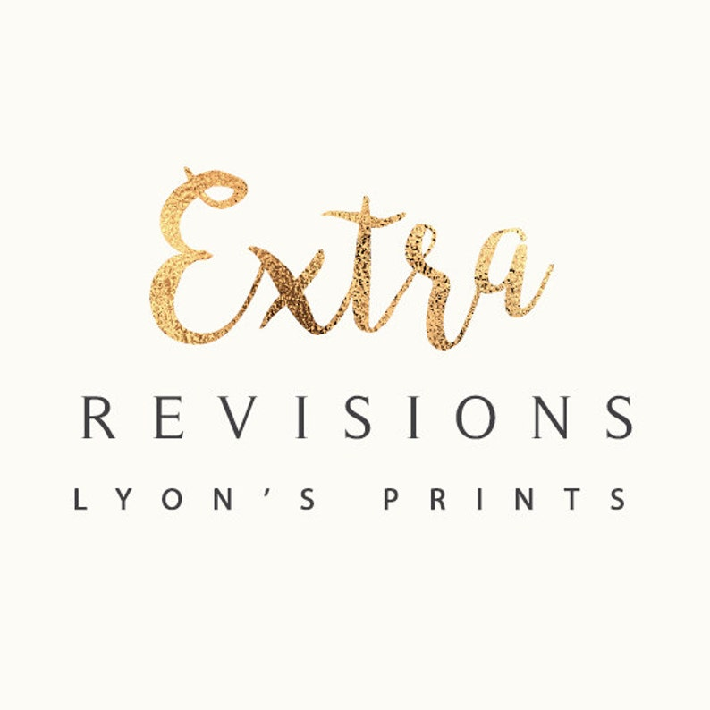 ADD ON_ Extra Revisions 3 pack image 0
