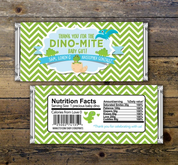 The Good Dinosaur Hershey Nugget Birthday Labels Party Favors Candy Wrappers