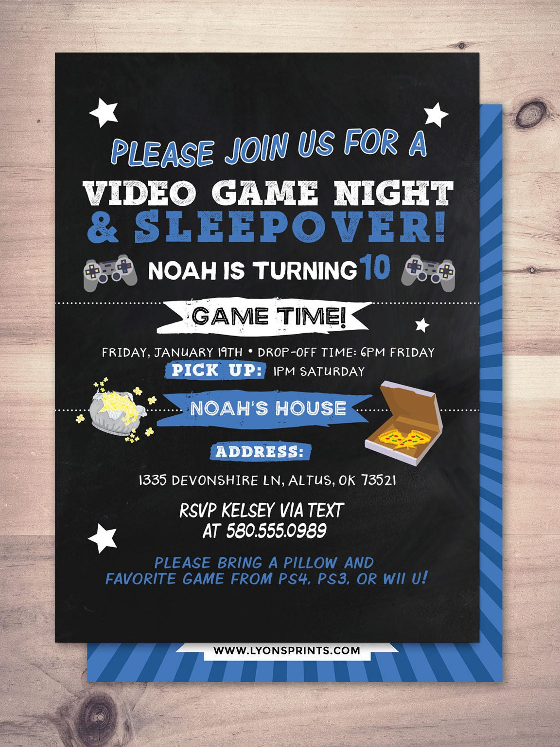 sleepover party invitation boy birthday invitations sleepover