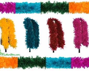SHOCKING PINK 8-10 In Height 25 pcs Striped Burnt COQUE Feathers