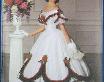 Simplicity 5724 Misses BridesWeddingBridesmaid Dress Sewing Pattern Sizes  14 Uncut Vintage 1982