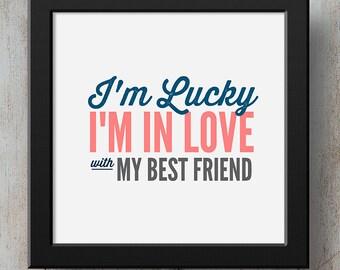 Im happy im in love with my best friend lyrics