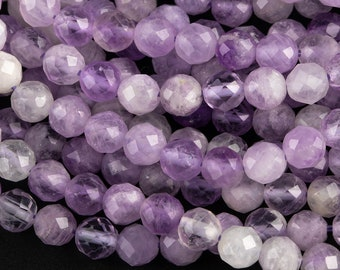 4.25 mm Natural Pink Amethyst Rondelle Beads Pink Amethyst Faceted Beads 13 8BGI20C