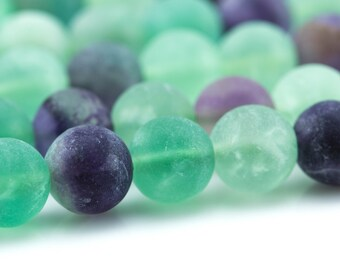 Fluorite Round Beads 3mm Purple 120 Pcs Gemstones DIY Jewellery Making Crafts