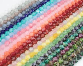 Hexagonal Hexagon Shape 6mm 7mm 8mm and 10mm Natural Strawberry Quartz Grade A High Quality Full Strand 16 Gemstone Beads
