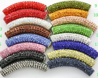 Premium Quality Clay PAVE Tubes 4 pcs per order