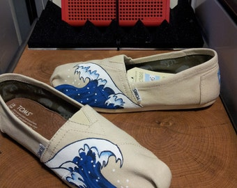 Toms Shoes Customized Waves Japanese