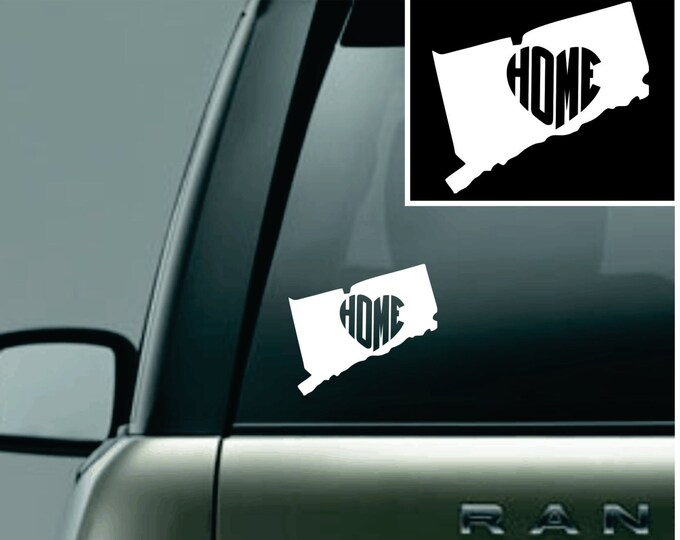 Connecticut Love Your State Car Decal
