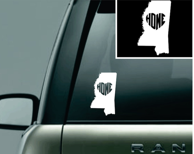 Mississippi Love Your State Car Decal
