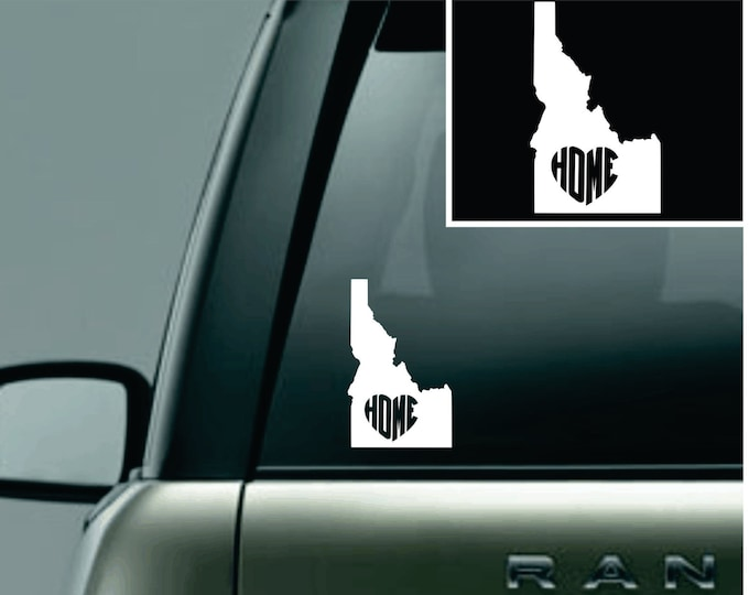 Idaho Love Your State Car Decal