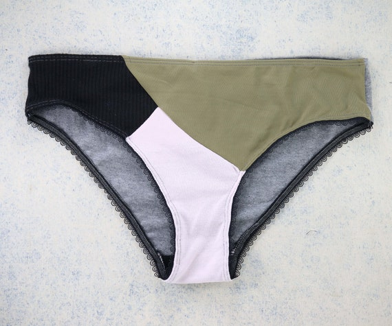 LARGE - EVI panties, unique, upcycle and handmade in Montreal, Quebec