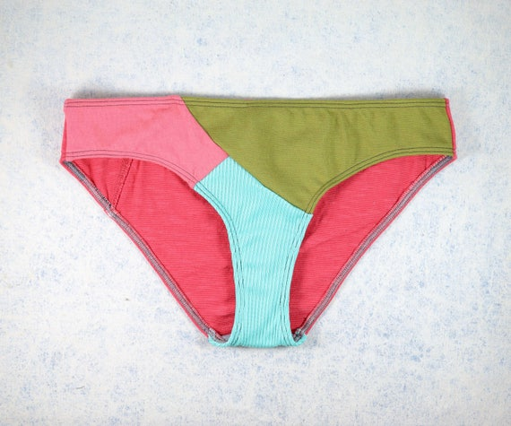 SMALL - EVI panties, unique, upcycle and handmade in Montreal, Quebec