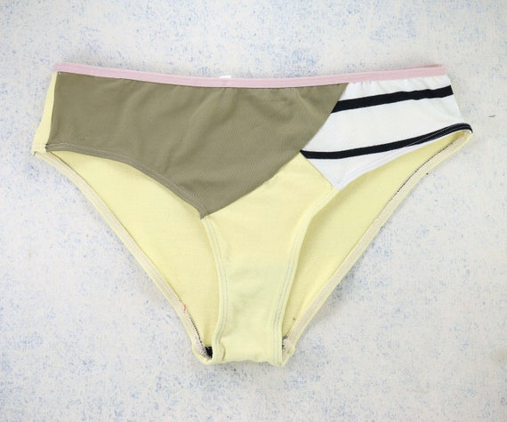 MEDIUM - EVI panties, unique, upcycle and handmade in Montreal, Quebec