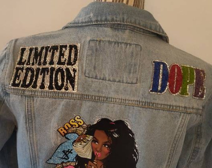 Featured listing image: Boss Lady Jean Jacket