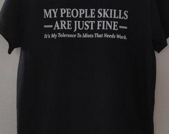 People skill t-shirt