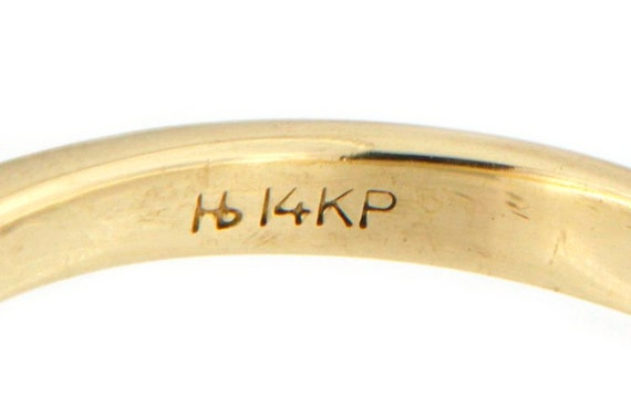 Women's Solitaire ring 14kt Yellow Gold  - image 2