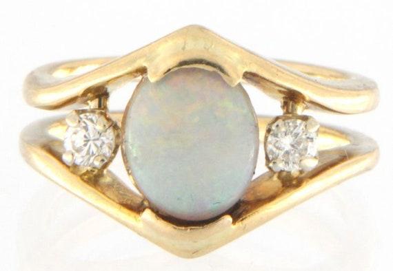 Women's Fashion Ring 14kt Yellow Gold