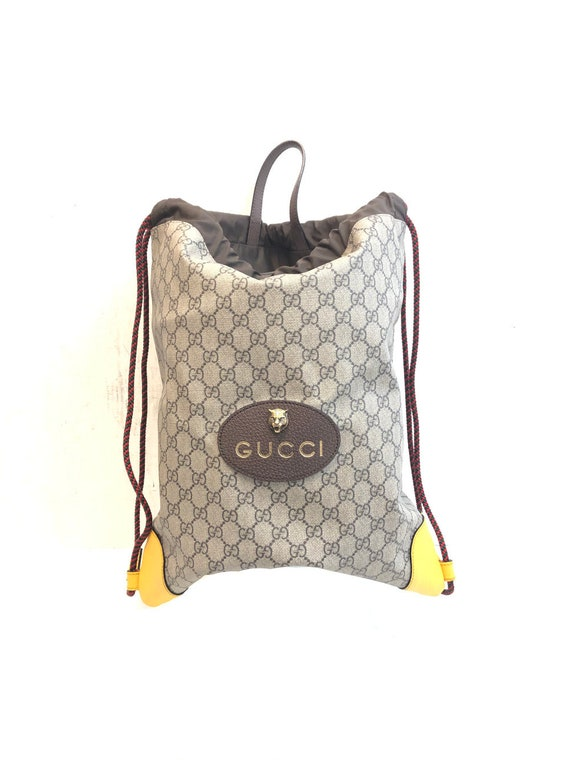 Gucci Backpacks Supreme Drawsting Backpack