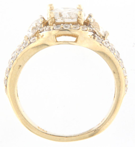 Women's Solitaire ring 14kt Yellow Gold  - image 5