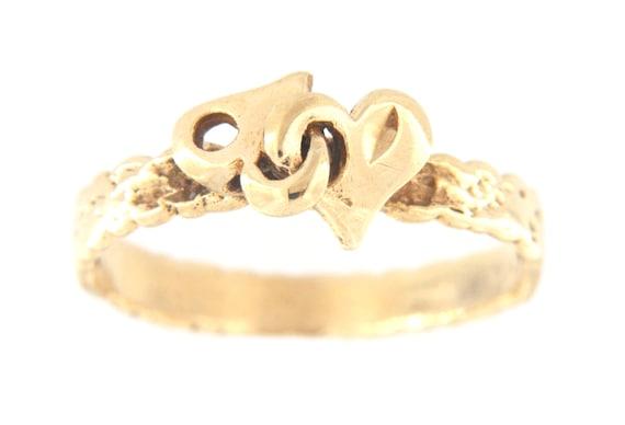 Women's Fashion Ring 10kt Yellow Gold