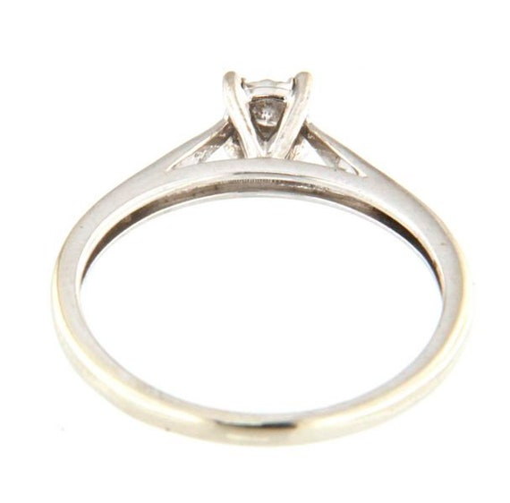 Women's Solitaire ring 10kt White Gold  - image 2