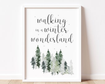 Christmas Print Etsy