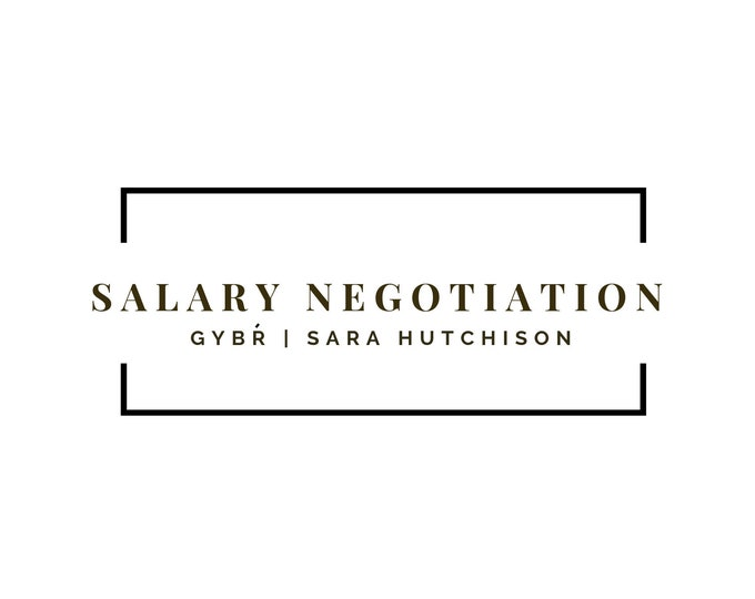 Professionally Written Salary Negotiation Letter