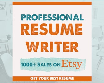 Resume writer | Etsy