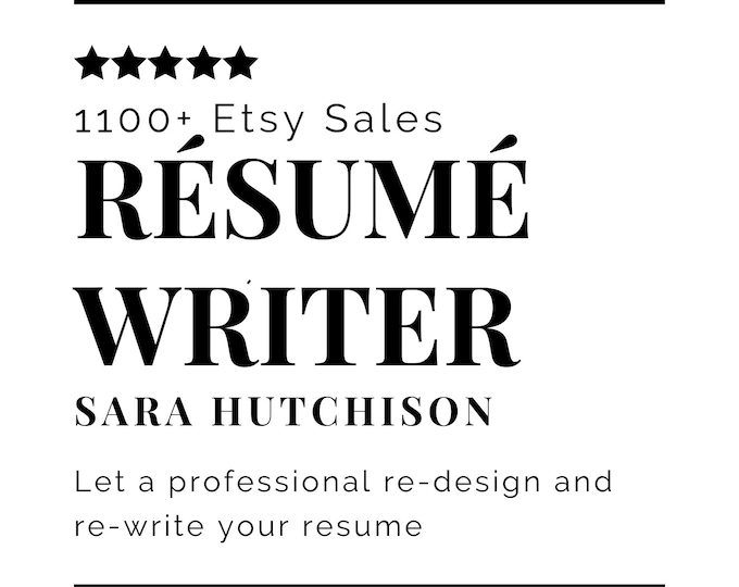 Resume Writing Service, Resume Assistance, Resume Template, Resume Design, Cover Letter Template, Resume Help, Personalized Resume