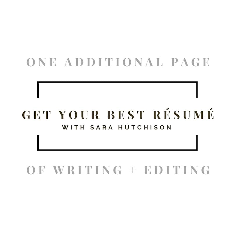 One additional page of resume writing image 0