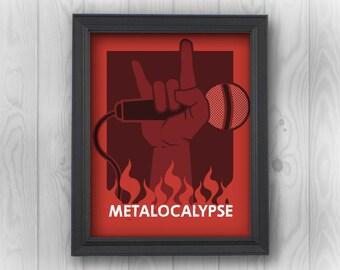 metalocalypse etsy - Metalocalypse Christmas Tree