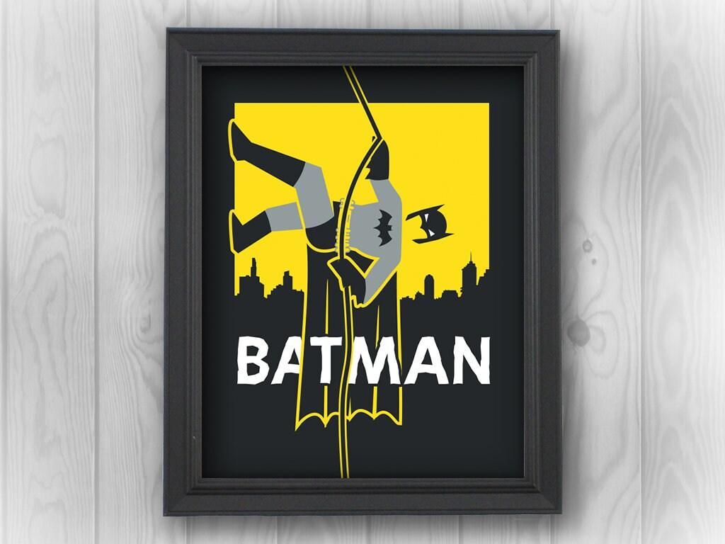 Batman Robin DC Comics Justice League superheroes Gotham   Etsy