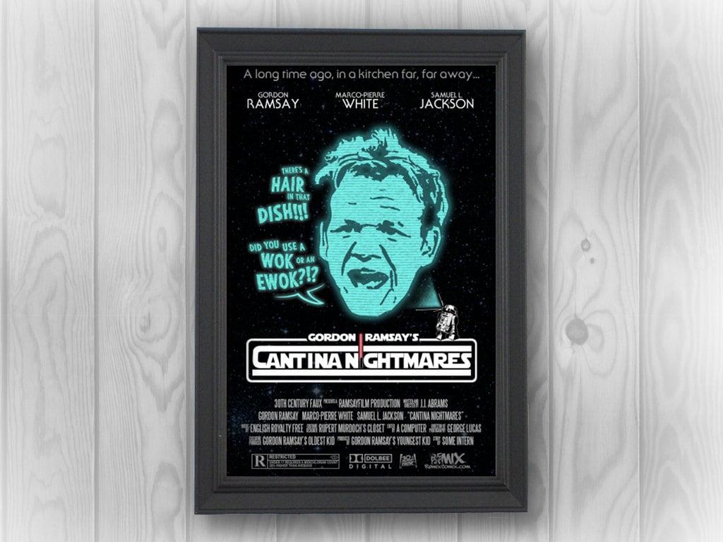 Gordon Ramsay Cantina Nightmares | Star Wars, Chewie, Chewbacca ...