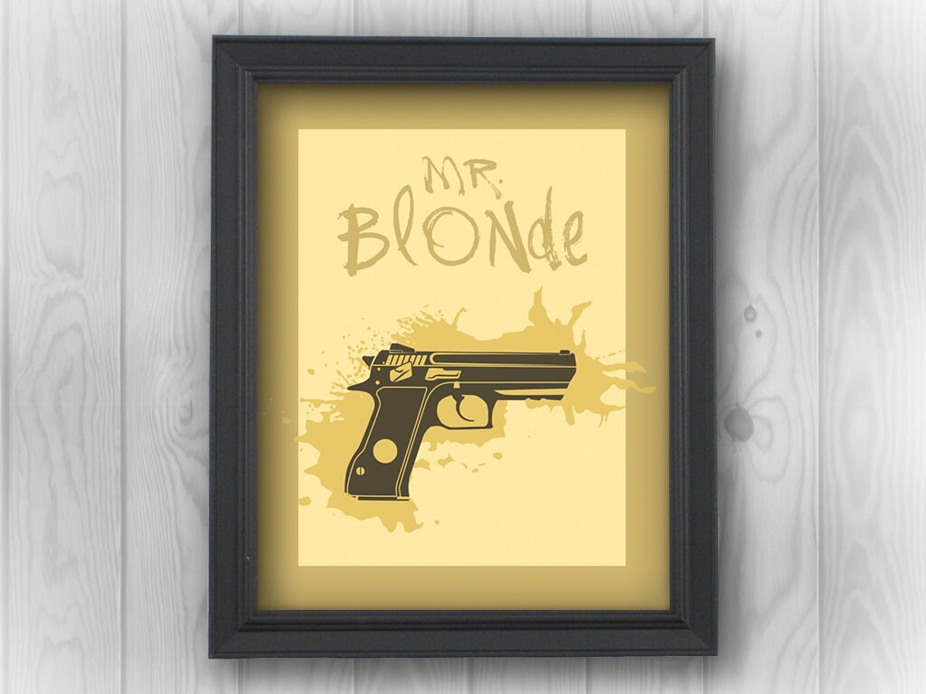 Reservoir Dogs, Mr Blonde, ear, gun, bloody, Quentin Tarantino ...