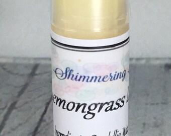 Lemongrass Lip Balm, Lemongrass Scented Lip Balm, Lip Balm, Essential Oil Lip Balm, Natural Lip Balm, Vegan Lip Balm