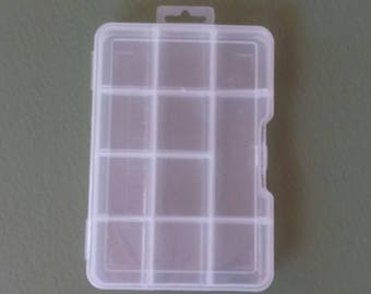 Storage Box For Beads, Craft Supply Storage Box, Organizer, Notions Box,  Findings