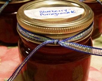 Blueberry Pomegranate Jelly