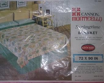 Vintage Cannon Monticello Blanket