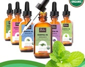 100 Pure and Natural Organic Therapeutic Grade Peppermint Essential Oil