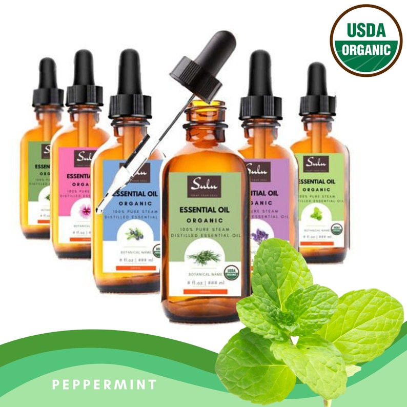 100% Pure and Natural Organic Therapeutic Grade Peppermint image 0