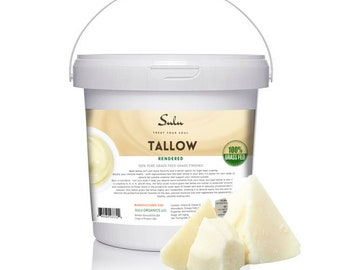 100% Pure Grass Fed Beef Tallow All Natural