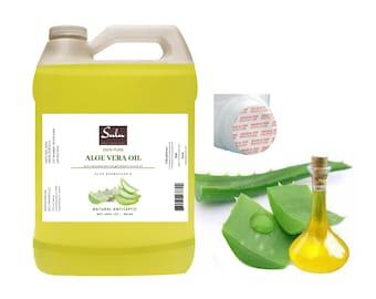 4 lbs 100% Pure Cold Pressed All Natural Aloe Vera Oil