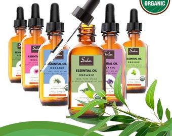 100% Pure and Natural Organic Therapeutic Grade Eucalyptus Essential Oil