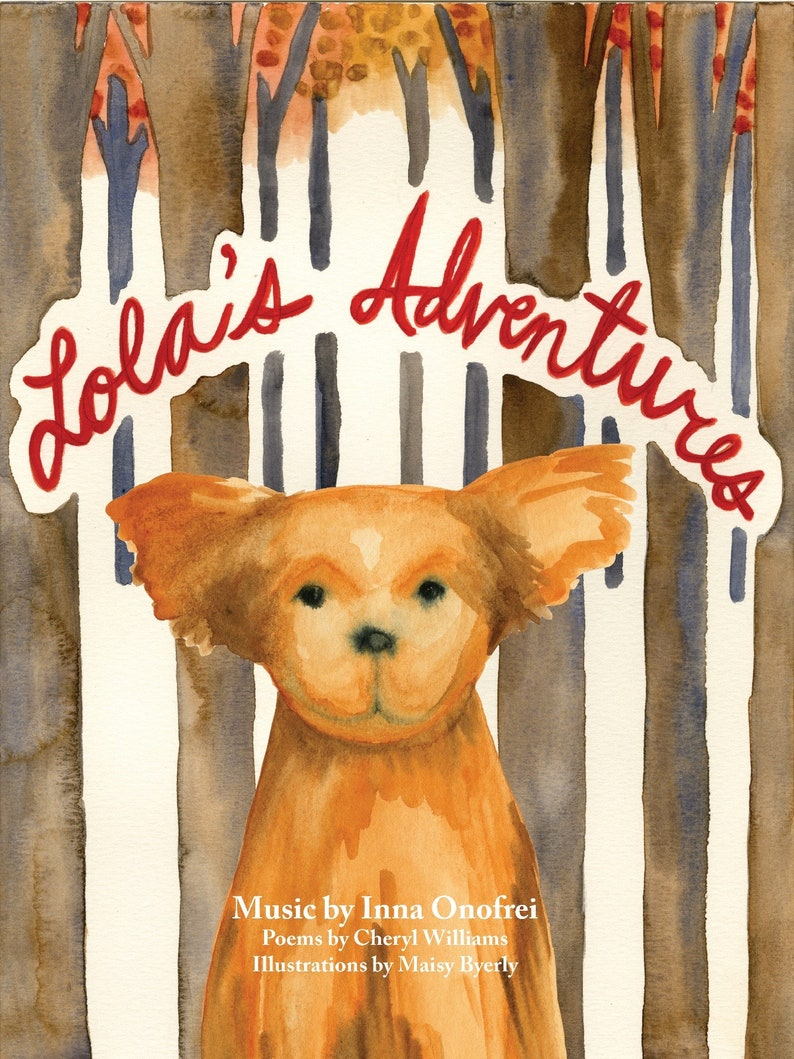 Lola's Adventures  Piano book image 0