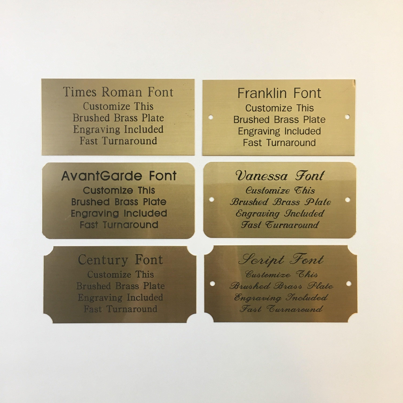 design 281 Address 260 Personalised Labels Brown vintage Kraft handmade by