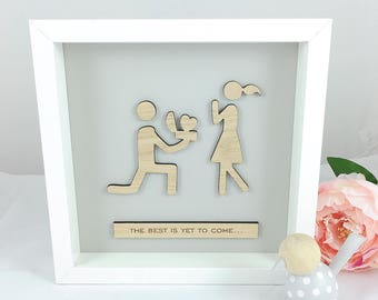 Engagement Frame Etsy
