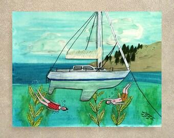 Kelp kids card