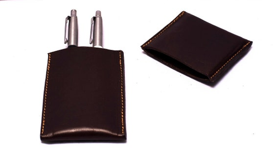 Pen Case - Pen Holder - Pencil Case - Pencil Holder - Leather Pen Case - Leather Pen Holder - Leather Pen Case - Designed by Ludena