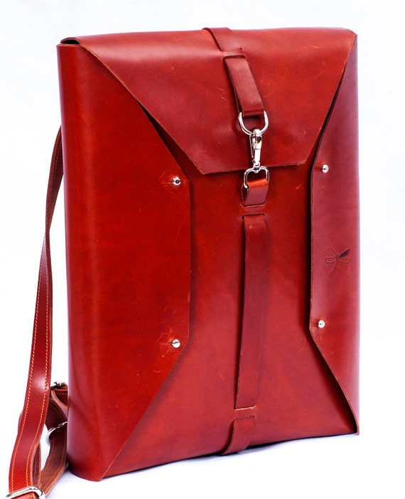 leather backpack for laptop, original design leather, resistant to the time.. Bag Computer backpack, folders, ect.