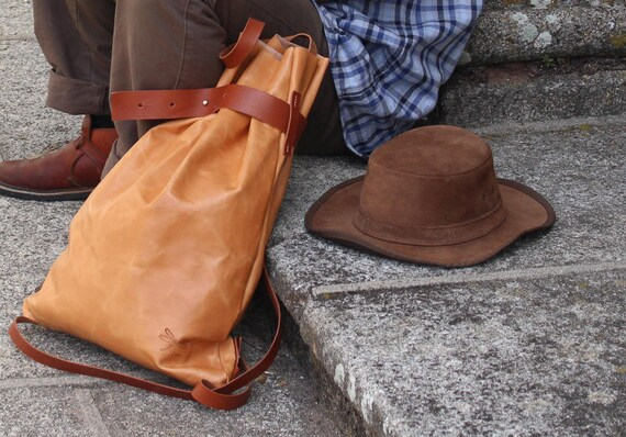 Leather Backpack, Leather laptop bag, Men's Leather Bag, Metropolitan Fashion